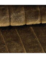 Couverture imitation fourrure beige