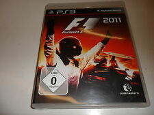 PlayStation 3  PS 3  F1 2011