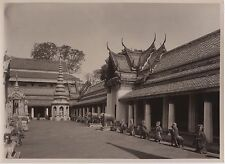 SIAM CAMBODGE CAMBODIA Watt Cheng Photo Vintage Argentique ca 1930