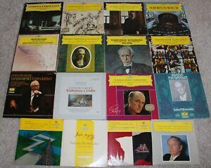 50 LP's - DGG Deutsche Grammophon - Private Schallplatten KLASSIK Sammlung LP's