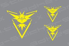 Pokemon Go Team Logo INSTINCT Vinyl Decal Sticker