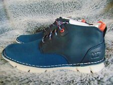 Mens CAT Ankle Boots Caterpillar blue Shoes Almanac Size UK 6 New in box