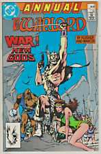 WARLORD ANNUAL#6 VF/NM 1987 NEW GODS DC COMICS