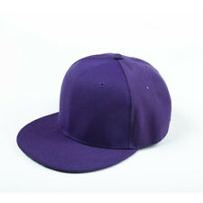 Mens Womens Vintage Hip-Hop Adjustable Bboy Baseball Snapback Funky Flat Hat Cap