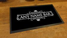 Personalizzato Bianco Cocktail Etichetta bar runner counter tappetino pub e