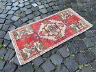Decor rug, Turkish rug, Vintage rug, Handmade rug, Small rug   1,5 x 3,1 ft
