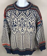 Dale of Norway Vintage 1994 Winter Lillehammer Olympics Snowflake Sweater Sz XL