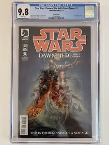 Star Wars: Dawn Of The Jedi - Force Storm #1 (Variant) CGC 9.8 [1st Appearances]