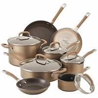 Circulon Premier Professional 13 Piece Hard Anodized Cookware Set - Bronze