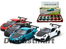 Kinsmart 1:36 Display Porsche GT2 RS Diecast Model Red/Black/Blue/White Model