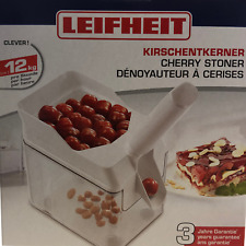 """Leifheit Kirschentkerner """"Cherrymat"""" weiß (37200) / Kirschkernentferner"""