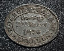 1836 Aberdeen, Scotland - George St. Church - Communion Token