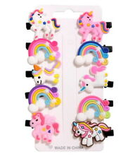 Kids Girls Unicorn Rainbow Mermaid Hair Clips Hair Bands Beautiful Hair Clips