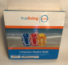 TrueLiving 1 Person Hydro Raft (yellow And Red)