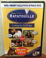 Ratatouille Cooking Fun For All Ages DVD + Character & Recipe Cards NEW & SEALED