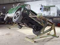 NBN CHASSIS  CAR TILTER CAR ROLLER JIG CAR TILTING LIFT  ROTISSERIE CJAUTOS CT04