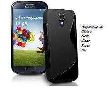 Custodia S LINE per Samsung I9500 Galaxy S4 I9505 GEL Case Cover TPU Wave Gomma