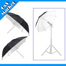 "2pcs 33"" Umbrella / 84cm Photography Studio Umbrella Light Black & white"