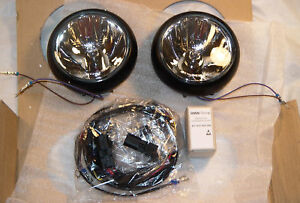 MINI Brand COOPER Clubman Countryman R55 R56 R57 R60 OEM Black Driving Lamp Set