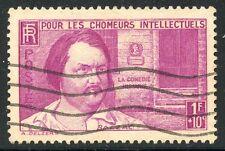 STAMP / TIMBRE FRANCE OBLITERE N° 463 / CELEBRITE / BALZAC COTE 9 €