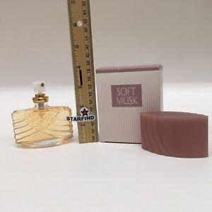 Avon Original Soft Musk Perfume Cologne Spray 1.5oz 44mL Vintage Rare 1998 w Box