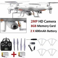 New 8GB X5C-1 2MP HD Camera 2.4Ghz 6-Axis  UAV RTF Quadcopter Drone UFO Gyro RC