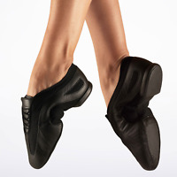 Black Bloch Slipstream (SO485) split sole jazz dance shoes