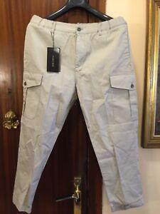 Pantalones De Hombre Zara De Algodon Compra Online En Ebay