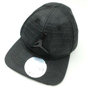 Air Jordan Black Out #23 Snapback Ball Cap Hat Baseball Infant