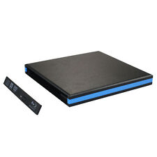 USB 3.0 External Enclosure Case For CD DVDRW Blu Ray 12.7mm SATA Drive Salable