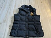 Lands End Womens warm puffer vest S small 6-8 coat jacket