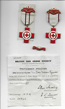 British Red Cross - VERY RARE Collection 1939 - Nursing Proficiency - First Aid
