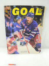 Vintage Goal Hockey Magazine Tomas Sandstrom w/ Stats