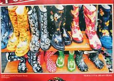 New 500 Piece Jigsaw Puzzle (Cute and Colorful Rubber Boots) Challenging
