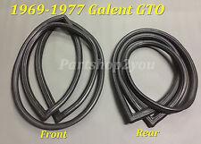 Mitsubishi COLT Galant GTO  FRONT & REAR windscreen WINDSHIELD seal rubber
