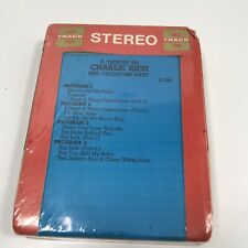 Tribute To Charlie Rich She Called Me Baby 8 Track Tape Sealed Stereo Cartridge