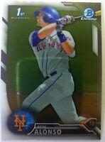 2016 16 Bowman Chrome Pete Alonso Rookie RC #BDC-92, New York Mets, 1st Bowman