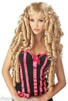 Sexy Blonde Doll Curls Burlesque Hair Cosplay Heat Resistant Party Costume Wig