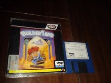 COMMODORE AMIGA BUILDERLAND THE STORY OF MELBA 1990 LORICIELS PROEIN SPAIN BOXED