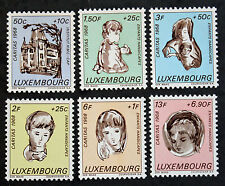 Timbre LUXEMBOURG Stamp - Yvert et Tellier n°729 à 734 n** (Cyn19)