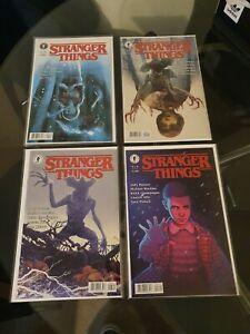 Stranger Things #1-4 Dark Horse Comics