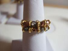Handmade Natural Bronze Costume Rings