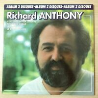 "RICHARD ANTHONY "" J'ENTENDS SIFFLER LE TRAIN ..."" - EX/EX  - DOUBLE 33 TOURS"