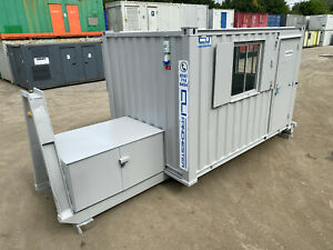 12ft x 8ft - Anti Vandal Canteen/Office | Roll on Off Body | Fully Refurbished