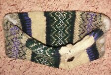 Handmade Headband  Recycled  from 100% Wool Sweaters One Size Fits Most