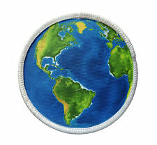 Patch - Earth Patch - Heat Seal / Iron on Patch for jackets, shirts, tote bags,