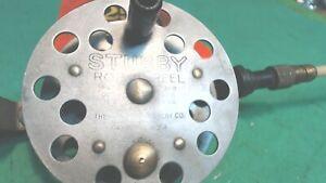 Vintage- Stubby Rod and Reel  Ice Fishing Pole American Display Co Dayton, Ohio