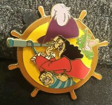 Disney Dlrp Captain Hook, Mr. Smee & Tick Tock Le 900 Mystery Pin Free Shipping!