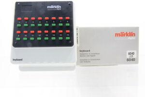 H0 Märklin 6040 Keyboard Stellpult digital +OVP/J17