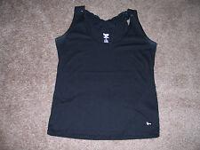 Women 20X Brand Western Butterfly Sequin Tank Top Black T-shirt SiZe SMALL VG!!!